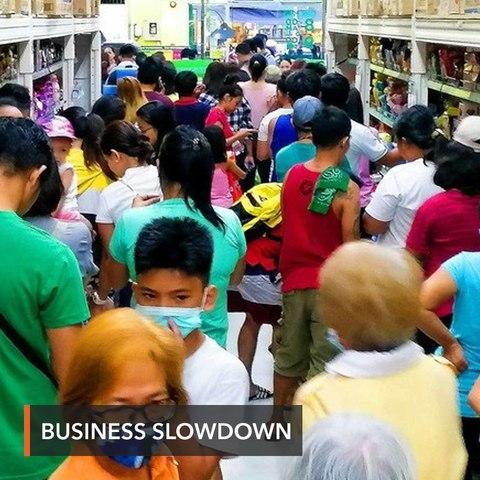 Businesses slow down in Metro Manila lockdown