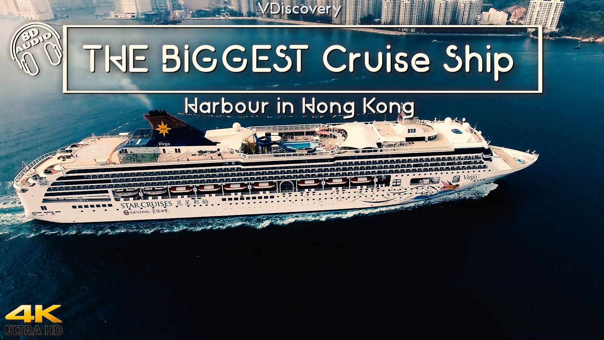 The Biggest Cruise Ship Harbour In Hong Kong 4k Video Dailymotion