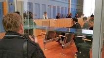 Federal Basın Merkezi'nde gerçekleştirilen basın toplantısına koronavirüs (Kovid-19) önlemi