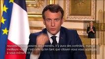 """Emmanuel Macron: """"Nous sommes en guerre ! Pour 15 jours, les réunions amicales et familiales seront interdites. Seuls les trajets nécessaires sont autorisés. Le second tour des municipales est reporté"""""""