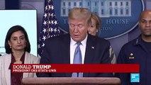 REPLAY - Allocution de Donald Trump sur l'épidémie de Coronavirus - Covid-19