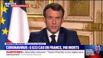 """Emmanuel Macron : """"les réunions familiales ou amicales ne seront plus permises, se promener, retrouver ses amis dans les parcs, dans la rue, ne sera plus possible"""""""