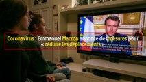 Coronavirus : Macron annonce des mesures pour « réduire les déplacements »