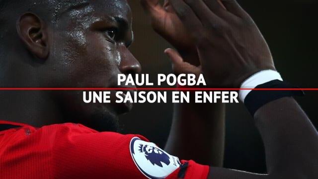Man. United - Pogba, la saison en enfer du Red Devil