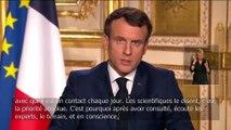 Macron, son discours du 16 mars 2020
