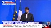 """Christophe Castaner affirme que les annonces d'Emmanuel Macron sont """"des mesures de confinement"""""""