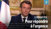 Coronavirus. Macron suspend les réformes en cours, dont les retraites