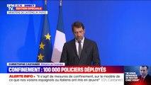 Christophe Castaner annonce la mobilisation de plus de 100.000 policiers et gendarmes en France