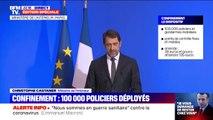 """Christophe Castaner: """"La violation des règles est punie d'une amende de 38 euros, et sera portée à un niveau supérieur qui pourrait être de 135 euros"""""""