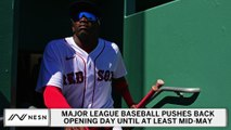 MLB Opening Day Pushed Back Until At Least Mid May