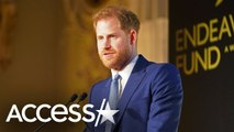 Prince Harry Admits in Speech That Serving 'Queen and Country' 'Never Leaves Us'