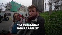 Ces Parisiens qui fuient le coronavirus et vont à la campagne