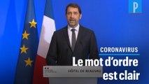 Coronavirus : «Restez chez vous», martèle Christophe Castaner