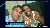 FOX Sports Radio: El exfutbolista paraguayo Nelson Cuevas visitó a Ronaldinho en prisión