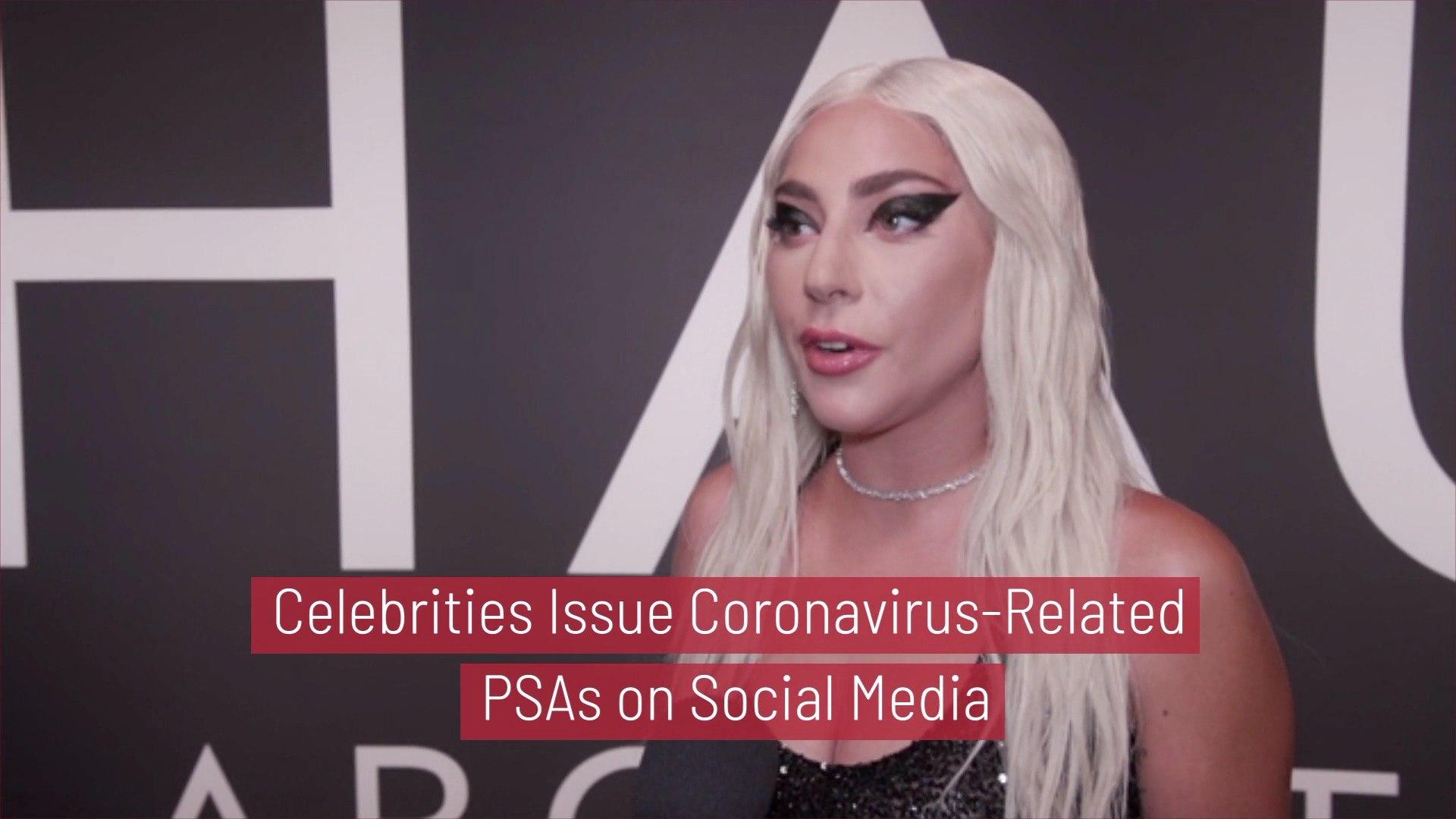 Celebrities On The Coronavirus