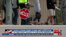 School officials address closures of all K-12 schools across 47 districts in Kern County
