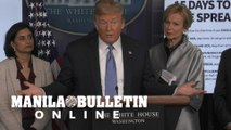 Coronavirus pandemic is 'not under control' says Trump
