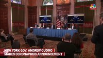 New York Gov. Andrew Cuomo makes coronavirus announcement