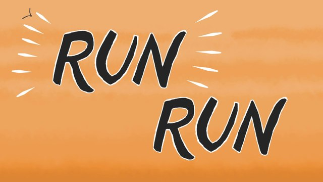 Young Wolf Hatchlings - Run Run