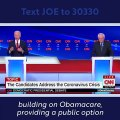 Joe Biden Discusses the Coronavirus Pandemic at the CNN Democratic Debate - Joe Biden For President