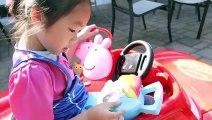 Kids Play Disney Toys Cars Lightning McQueen Car Wash, Bath Song Nursery Rhymes Toys For Kids