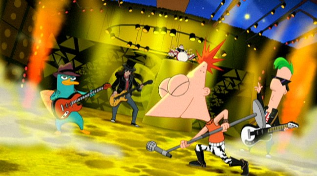 Phineas And Ferb - Kick It Up A Notch