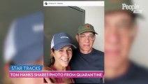 Tom Hanks Shares Photo From Quarantine With Rita Wilson After Coronavirus Diagnosis