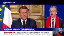 """Pourquoi Emmanuel Macron n'a-t-il pas prononcé une seule fois le mot """"confinement"""" dans son discours ?"""