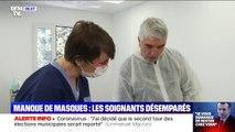 Coronavirus: les soignants désemparés par le manque de masques