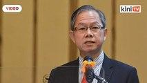 Sidang media oleh mantan timbalan menteri kesihatan Lee Boon Chye