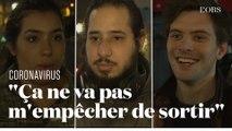 Coronavirus : des Parisiens sceptiques face aux mesures de confinement annoncées par Castaner