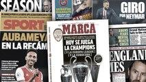 Le monde du football suspendu à la décision de L'UEFA, Pierre-Emerick Aubameyang se rapproche du Barça