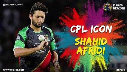 SHAHID AFRIDI | #CPLIcon #CPL20 #CricketPlayedLouder