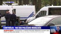 Le confinement commence en France, 100.000 policiers sont mobilisés pour assurer les contrôles