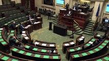 La Première ministre Sophie Wilmès demande la confiance au parlement