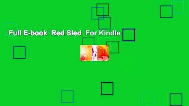 Full E-book  Red Sled  For Kindle