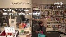 Coronavirus: à Paris, les kiosquiers tentent de survivre