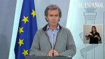 """""""Si no hemos llegado al pico estamos muy cerca"""": mensaje optimista de Fernando Simón"""
