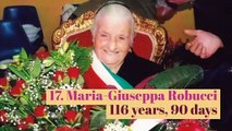 Top 20 oldest people of all time