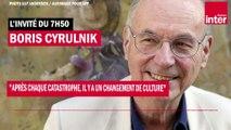 """Boris Cyrulnik : """"Après chaque catastrophe, il y a un changement de culture"""""""