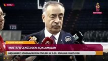 Mustafa Cengiz'den Fatih Terim'in sağlık durumu ile iligi açıklama