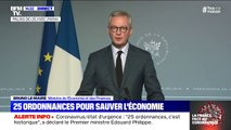 Bruno Le Maire annonce un prêt d'État pour toutes les entreprises