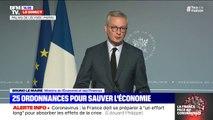 Bruno Le Maire appelle tous les entrepreneurs qui ont moins d'un million de chiffre d'affaire à solliciter l'aide de 1500 euros du fonds de solidarité