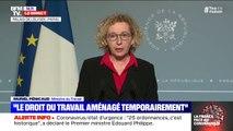 """Muriel Pénicaud (Ministre du Travail): """"Pour les PME, l'intégralité des salaires versés en chômage partiel sera remboursé"""