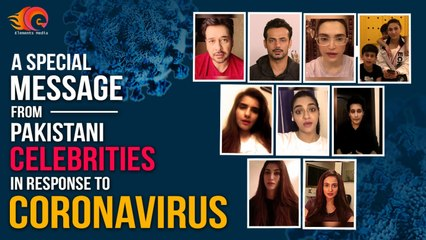 Faysal Quraishi - A Special Message by Celebrities against Coronavirus