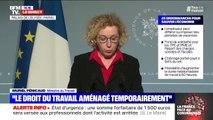 """Muriel Pénicaud (ministre du Travail): """"Nous ouvrirons le bénéfice du chômage partiel aux assistantes maternelles, aux employés à domicile, aux salariés au forfait jour et aux VRP"""""""