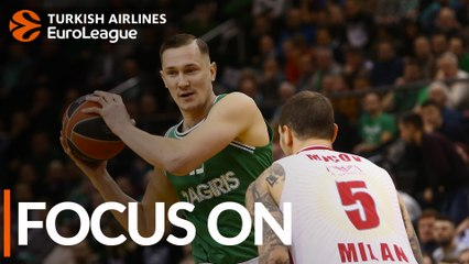 Paulius Jankunas, Zalgiris: 'It's home for me'