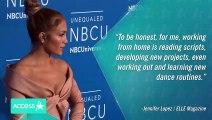 Inside Look into Jennifer Lopez's Self-Isolation Routine