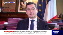 "Gérald Darmanin n'exclut pas de nationaliser Air France en cas de ""difficultés importantes"""