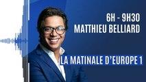 """Matthieu Belliard dévoile le nouveau slogan de l'antenne : """"regardez le monde tousser !"""" (Canteloup)"""